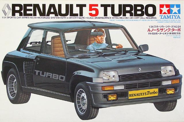 Montage maquette R5 Turbo 1 Client bleu [Tamiya 1/24] R5-1