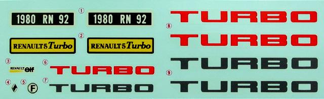 Montage maquette R5 Turbo 1 Client bleu [Tamiya 1/24] R5-11