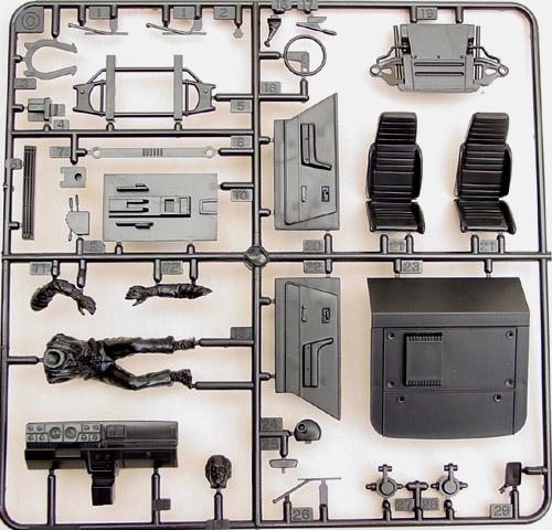 Montage maquette R5 Turbo 1 Client bleu [Tamiya 1/24] R5-6