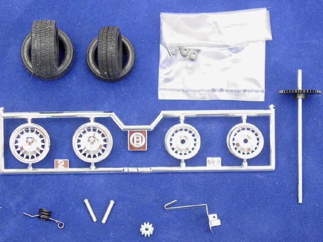 Montage maquette R5 Turbo 1 Client bleu [Tamiya 1/24] R5-8