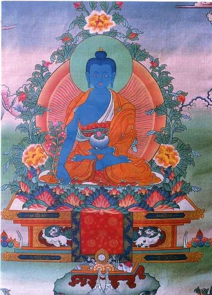 Mantra de guérison?? Medizinbuddha