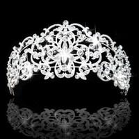 تيجان ملكية  امبراطورية فاخرة Gorgeous-rhinestones-crystals-bridal-crowns