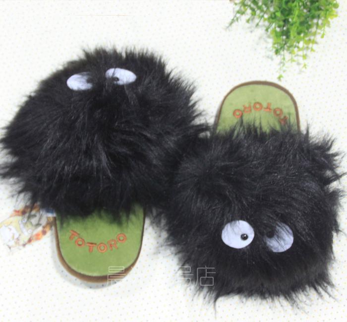 [Jeu] Association d'images - Page 3 Hayao-miyazaki-totoro-plush-shoes-home-warm