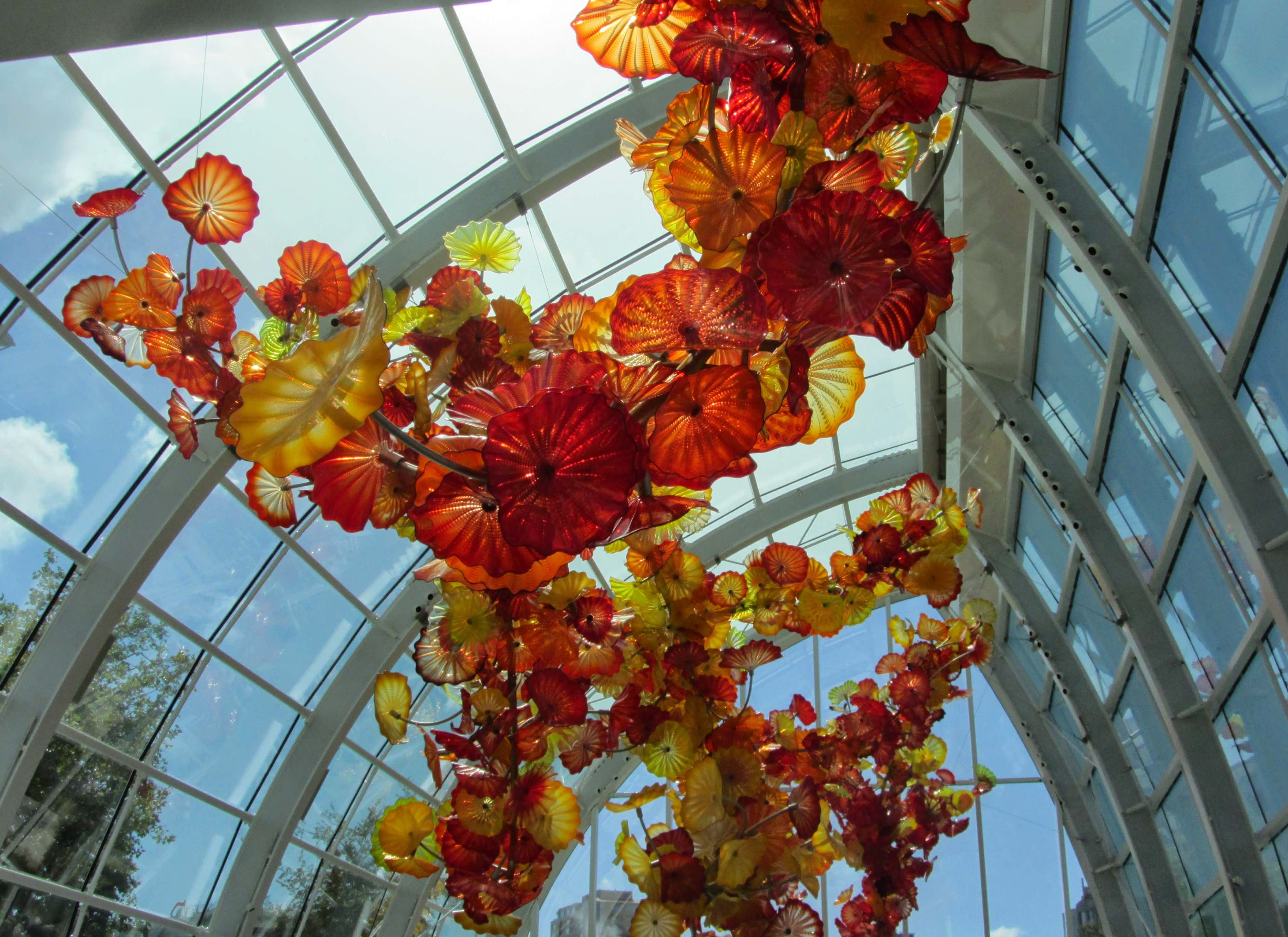Dale Chihuly Seattle-Chihuly-Garden-Glass-Ceiling-Glass