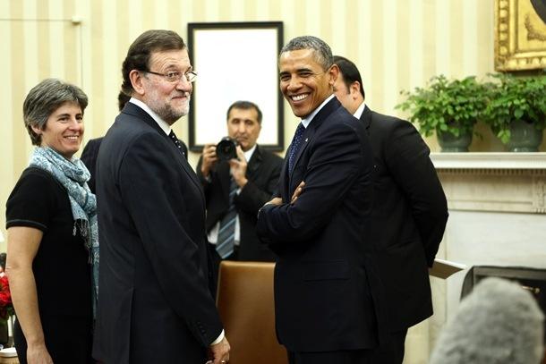 ¿Cuánto mide Barack Obama? - Estatura y peso - Real height and weight Barack-Obama-y-Mariano-Rajoy1