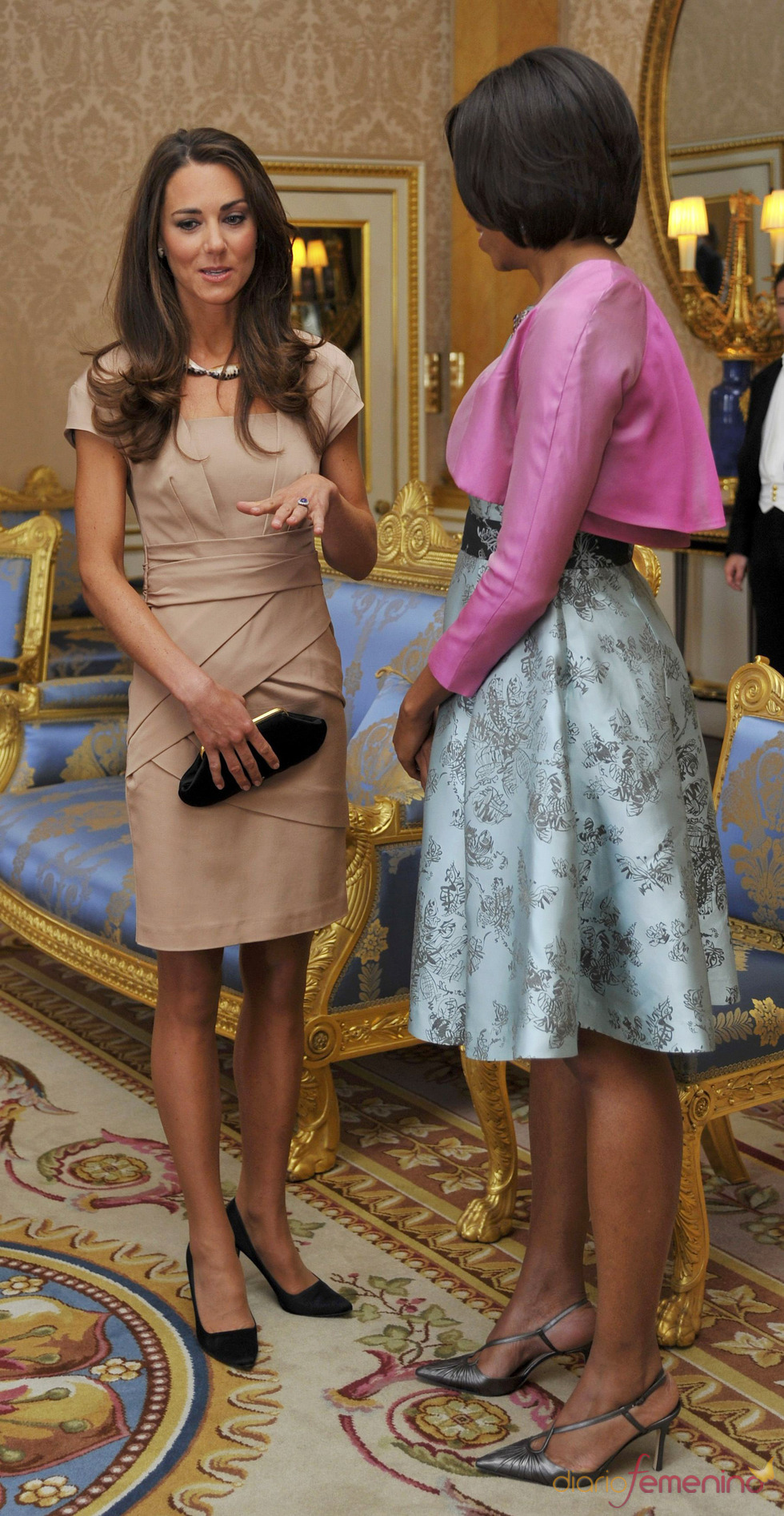 William y Catherine, Duques de Cambridge 19178_kate-middleton-charla-con-michelle-obama