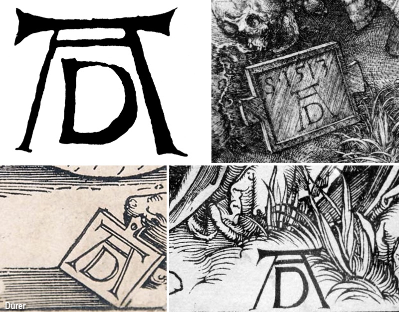 Créer sa signature  Monogramma-durer