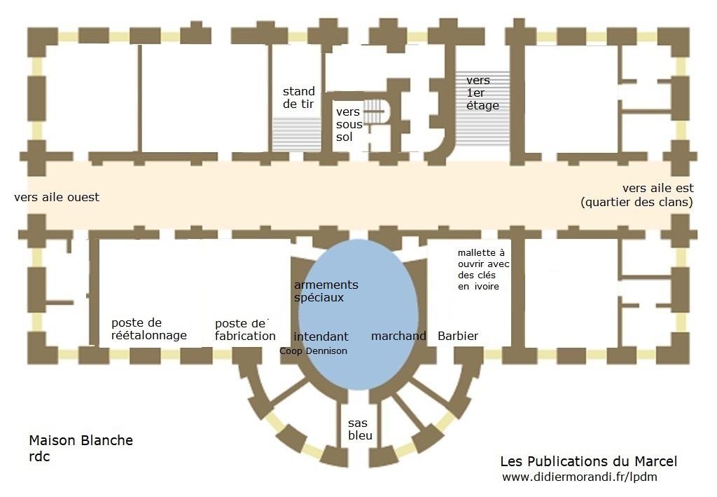 Plans De La Maison Blanche