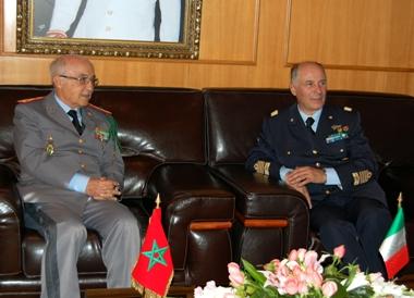 Coopération militaire maroco-italienne 1_52569_Il_Capo_di_Stato_Maggiore_della__MaroccoMedium