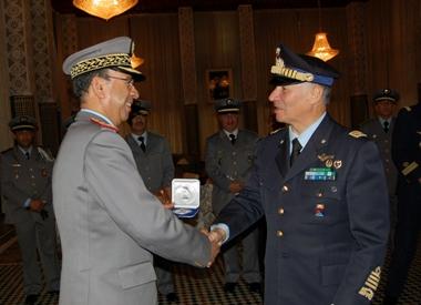 Coopération militaire maroco-italienne 8_7969_Il_Capo_di_Stato_Maggiore_della__MaroccoMedium
