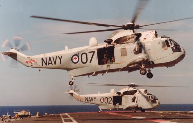 Historique des porte-avions australiens Seaking