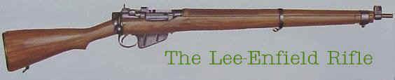 أسلحة الحرب العالمية الثانية Lee-enfield-rifle