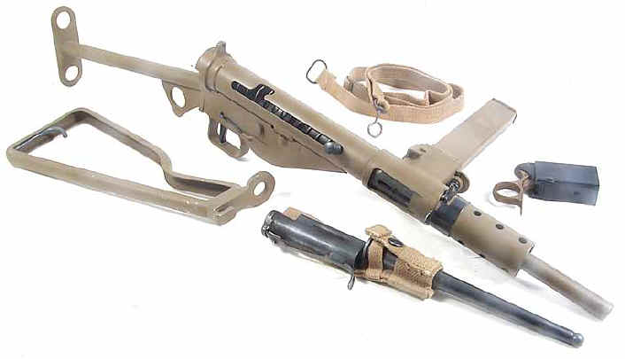 أسلحة الحرب العالمية الثانية Sten