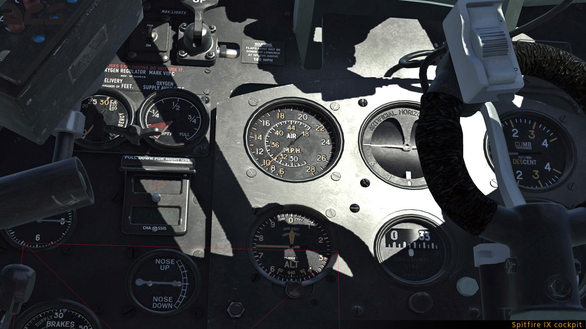 DCS Shopping list Spitfire-IX-cockpit-03