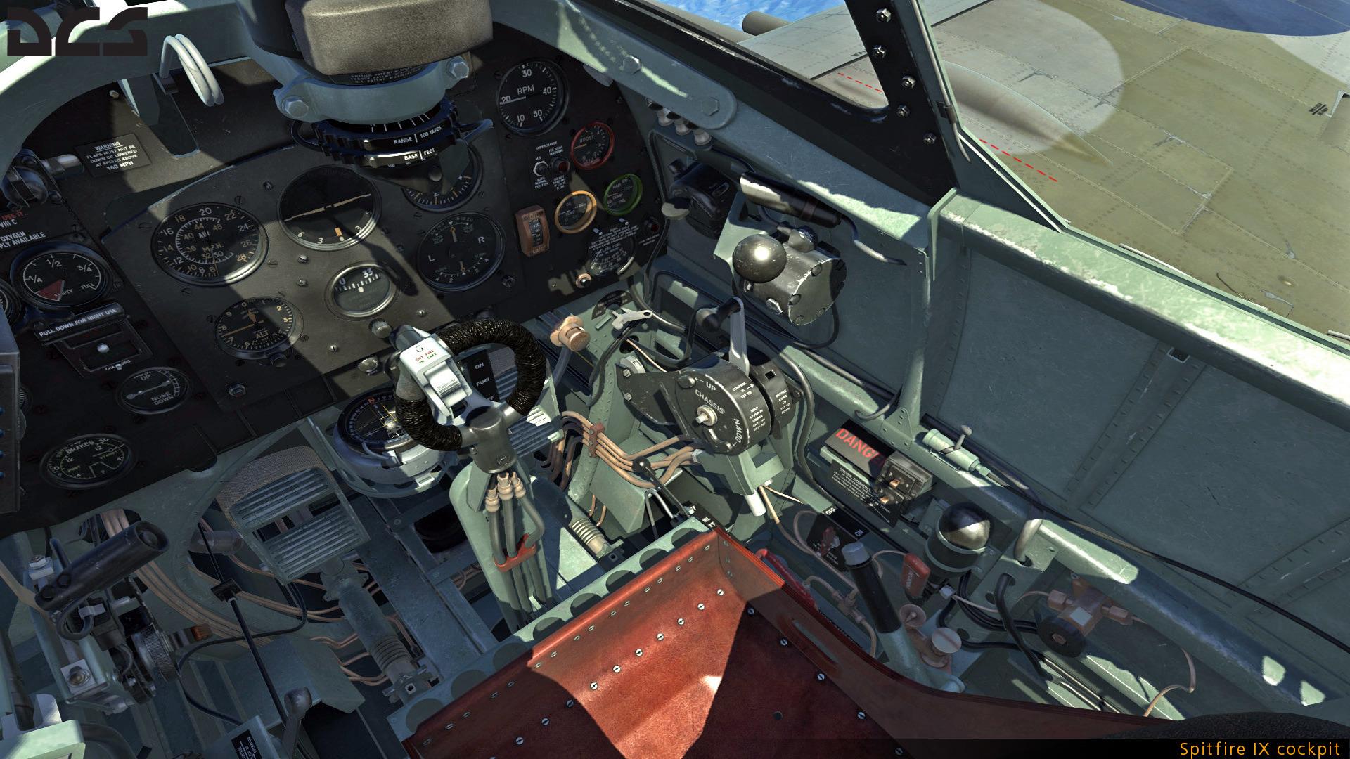 DCS Shopping list Spitfire-IX-cockpit-01