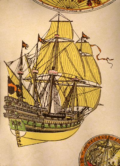 Pyrates of ye Karribean III--Dead Man's Chest ShipWallpaper02
