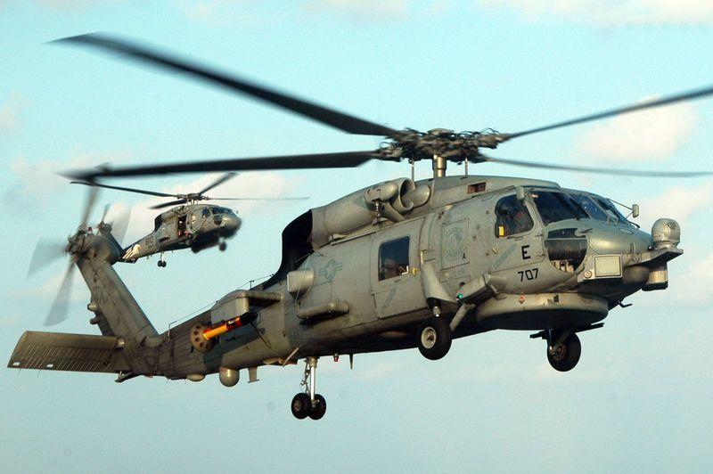 المغرب يقتني مروحيات امريكية من نوع SH-60  800px-SH-60B_Seahawksmall