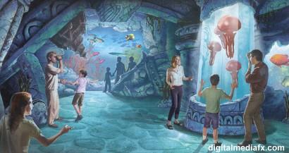 [Fan Project] Disney's Explorers World Da02