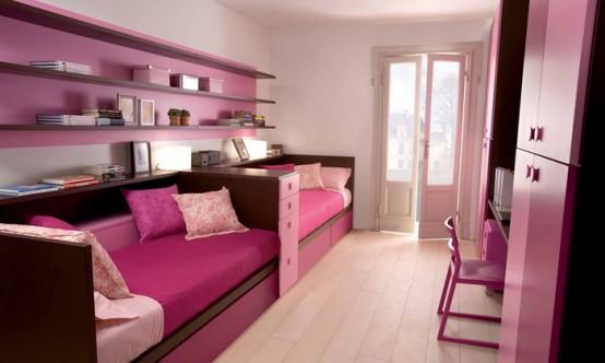 غرف للمراهقات Cool-and-Ergonomic-Bedroom-Ideas-for-Two-Children-by-Dearkids-13-554x332