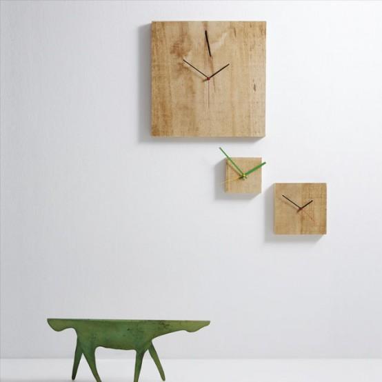 ساعات حائطية كأنها أسطورية Cool-clock-nature-554x554