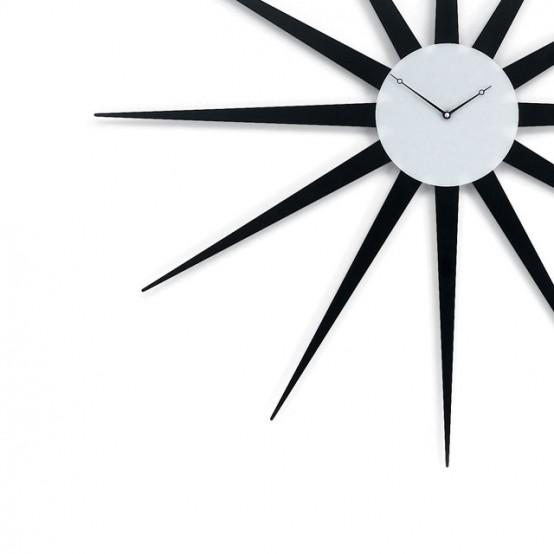 ساعات حائطية كأنها أسطورية Cool-clock-star-554x554