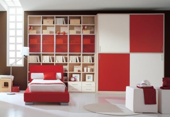 غرف نوووووم اطفال تجنن Cool-kids-rooms-1-554x381