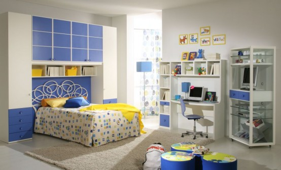 غرف للمراهقات Giessegi-rooms-for-boys-and-girls-16-554x335