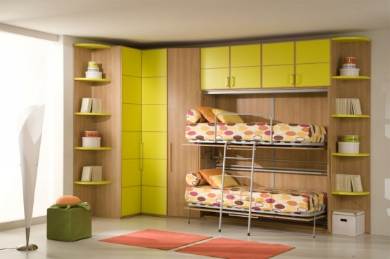 غرف للمراهقات Giessegi-rooms-for-boys-and-girls-35-554x369