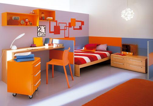 غرف نوووووم اطفال تجنن Kids-room-decor-colorful-1