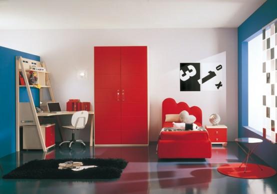 غرف نوووووم اطفال تجنن Kids-room-decor-idea-11-554x387