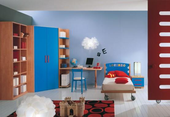 غرف نوووووم اطفال تجنن Kids-room-decor-idea-16-554x382