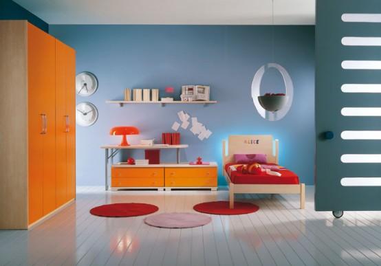 غرف نوووووم اطفال تجنن Kids-room-decor-idea-7-554x387