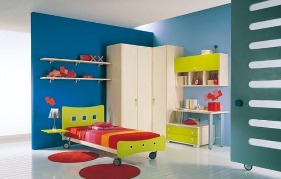 غرف نوووووم اطفال تجنن Kids-room-decor-idea-8-554x353