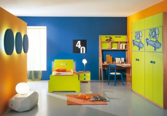 غرف نوووووم اطفال تجنن Kids-room-decor-idea-9-554x386