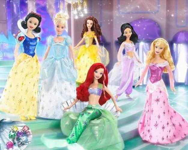 Девочки играют в куклы - Страница 3 Barbie114