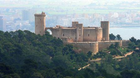 30 Sous 1821. Fernando VII. Palma de Mallorca. Castillo-bellver