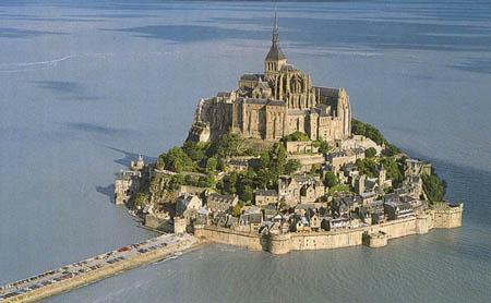 Tvrđave i dvorci - Page 2 Mont-Saint-Michel-Castle