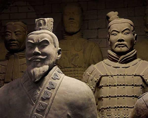 La sculpture chinoise ancienne Xian_09