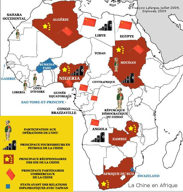 Mali : intervention humanitaire ou manœuvre antichinoise ? Lafarguecartechineafrique