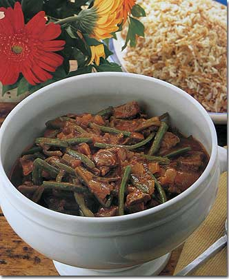 Cila eshte  pjata juaj e  preferuar  Green_bean_stew