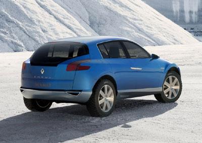 [Concepts] Les plus beaux concepts-car de 2000 à nos jours! - Page 3 Renault-Egeus_rear