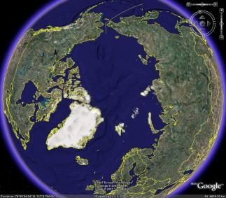 La febbre climatica del Sistema Solare Polo_nord