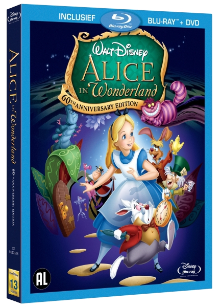 [BD/ DVD] Les édition Benelux des films Disney - Page 4 NL_Alice_In_Wonderland