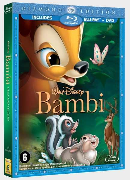 [BD/ DVD] Les édition Benelux des films Disney - Page 4 NL_Bambi_1st_Edition