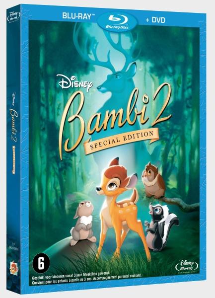 [BD/ DVD] Les édition Benelux des films Disney - Page 4 NL_Bambi_2_1st_Edition