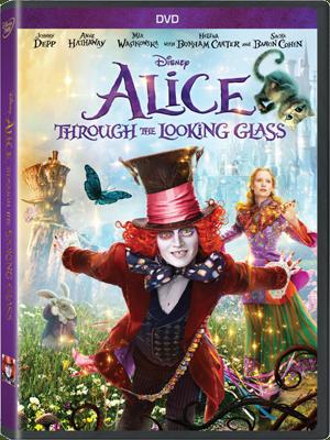 Les jaquettes DVD et Blu-ray des futurs Disney - Page 17 Alicemiroirdvdus
