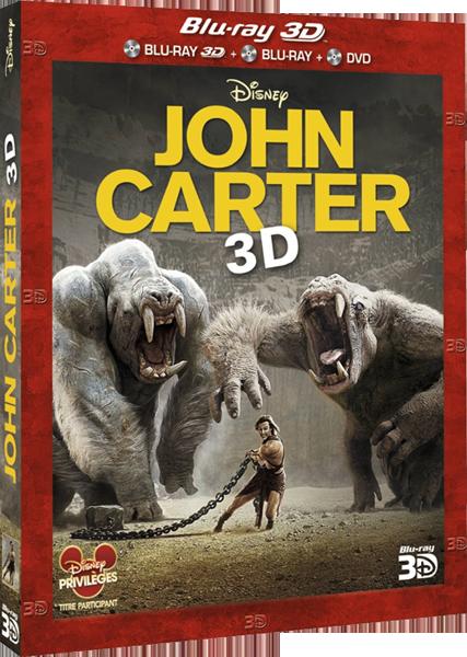 John Carter [Disney - 2012] - Page 10 Johncarterbd3dfr