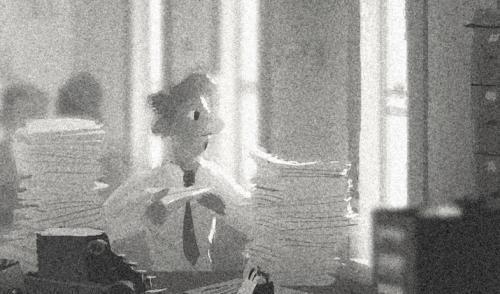 Paperman [Cartoon Walt Disney - 2012] Paperman2