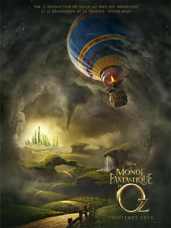 Le Monde Fantastique d'Oz [Disney - 2013] - Page 4 Ozaffichefr1