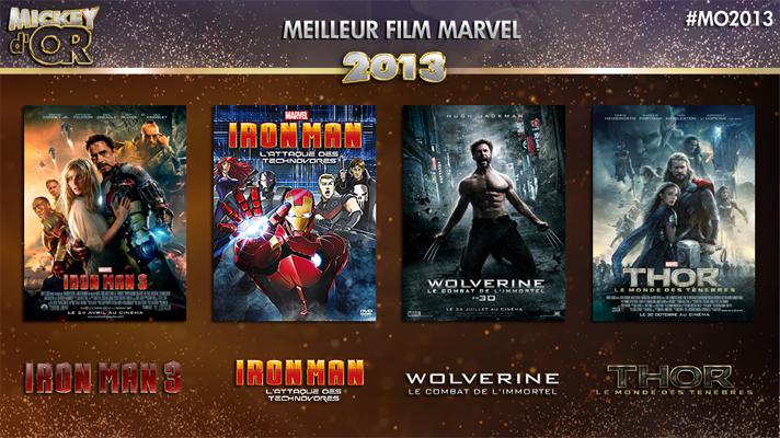 Mickey d'Or 2013 : découvrez le palmarès de l'année ! Marvel2013